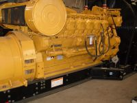 used CAT diesel genset without repair of good condition