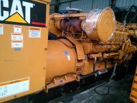 used CAT open type 1000kw diesel generator set