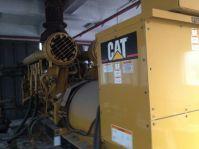 Used Caterpillar Diesel Generator C3516 2000 ekW