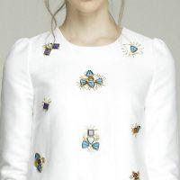 the new fashion comfortable white slim dress