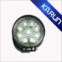 Hot-selling 27 Watts Round LED Work Lights for off road vehicles