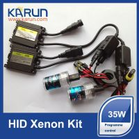 Program Control Auto Xenon HID Kit for car headlight replacement  with LED display 18months warranty!
