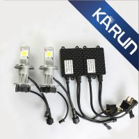 Newest The 2th CREE LED Auto Headlight CREE CXA1512 chips H4 -H/L H7 H8 H9 H11 9005 9006 H10 H16