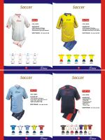 SOCCER SETS TEAM WEARS