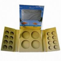 Paper Compact Powder Case, OEM Orders Acceptable