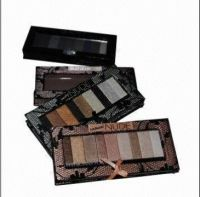 Paper palette case for eyeshadow by lace & satin cloth