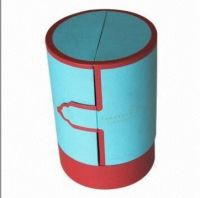 Cylinder-shaped box, art paper, multifunction, customized designs