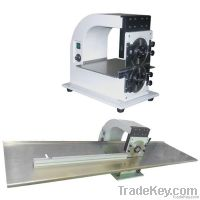 Nice V-CUT PCB separator machine for long 1200mm LED strips, CWVC-1S