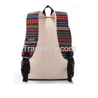 Causal Style Lightweight Canvas Cute Backpacks School Backpack