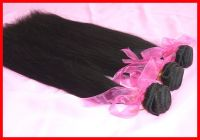 5A Unprocessed Brazilian Virgin Hair 3pcs/lot Straight Natural Color