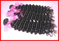 5A Unprocessed Brazilian Virgin Hair 3pcs/lot Deep Wave Natural Color