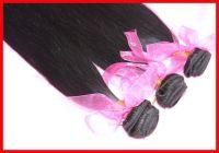 5A Unprocessed Brazilian Virgin Hair 3pcs/lot Straight Natural Color