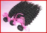 5A Unprocessed Brazilian Virgin Hair 3pcs/lot Deep Wave Natural Color