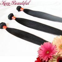 100% Unprocessed Natural Straight Brazlian Virgin Human Hair 3pcs Hair Bundles