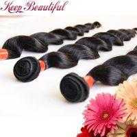100% Unprocessed Loose Wave Peruvian Virgin Human Hair 3pcs Hair Wefts