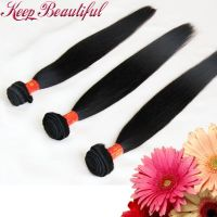 100% Unprocessed Natural Straight Brazlian Virgin Human Hair 3pcs Hair Bundles