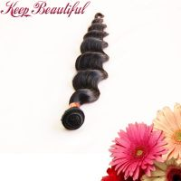100% Unprocessed Loose Wave Peruvian Virgin Human Hair 3pcs Hair Wefts