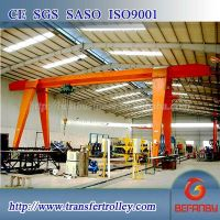 20t motor driven mobile single beam gantry crane