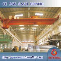 Rail mounted double girder bridge crane