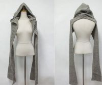 Hooded Knitting Scarf