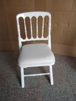 White black chivari chair