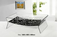 Hot Bent Glass Coffee Table