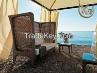 Outdoor furniture patio benches KC1304