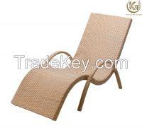 Garden furniture sun lounger KL1214