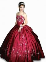 Embroidery Quinceanera Dresses REQ1001