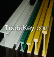 Fiberglass I Beam High Strength Material and Pultrusion Process