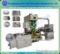 automatic aluminum foil food container making machine
