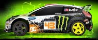 HPI Racing 1/8 Ken Block WR8 Flux Ford Fiesta H.F.H.V.