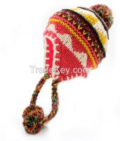 Knit Helmet Hat
