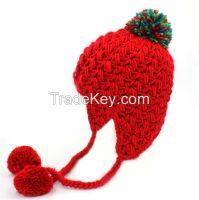 Handknit Jacquard Hat