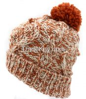 Fashion Hand knit Beanie hat