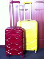hard shell travel trolley luggage