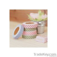 DIY printed fabric tape decorative sticker, fabric tape