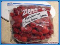 Frozen Raspberry Whole