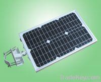 Integrated Solar street / garden light
