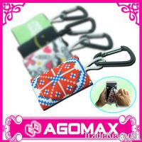 Microfiber Cleaning Cloth Keychain For Mobile Phone