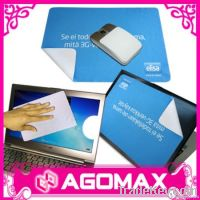 Mouse Mat Cleaning Cloth (Microfiber Mouse Mat with Non-Slip dots on b