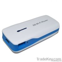 Wireless 3G Router Repeater w/4400mAh Battery