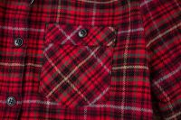ladies' check shirt  factory  direct sell ODM/OEM service