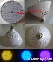 underwater led pool lamp SMD432leds 30W 220V rgb e27 light holder repl