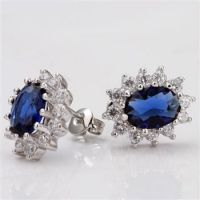 2013 hot selling fashion 18k gold plated earrings jewelry
