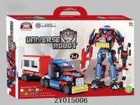 Transformers robot blocks