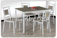 Kitchen Nook Dining Set-Breakfast Nook And 4 Dining Chairs