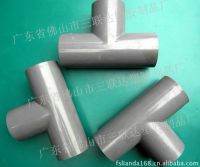 PVC PP Straight Tee for acid resistance