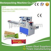 Horizontal Compressed Cereal Bar Packing Machine