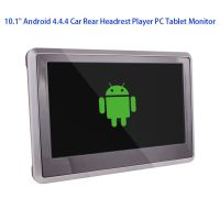 10.1 Inch Android 4.4.4 HD 1080P Capacitive Wide Touch Screen Headrest Video Player Multimedia Player Headrest Monitor With Quad-CORE CPU Support WIFI/3G